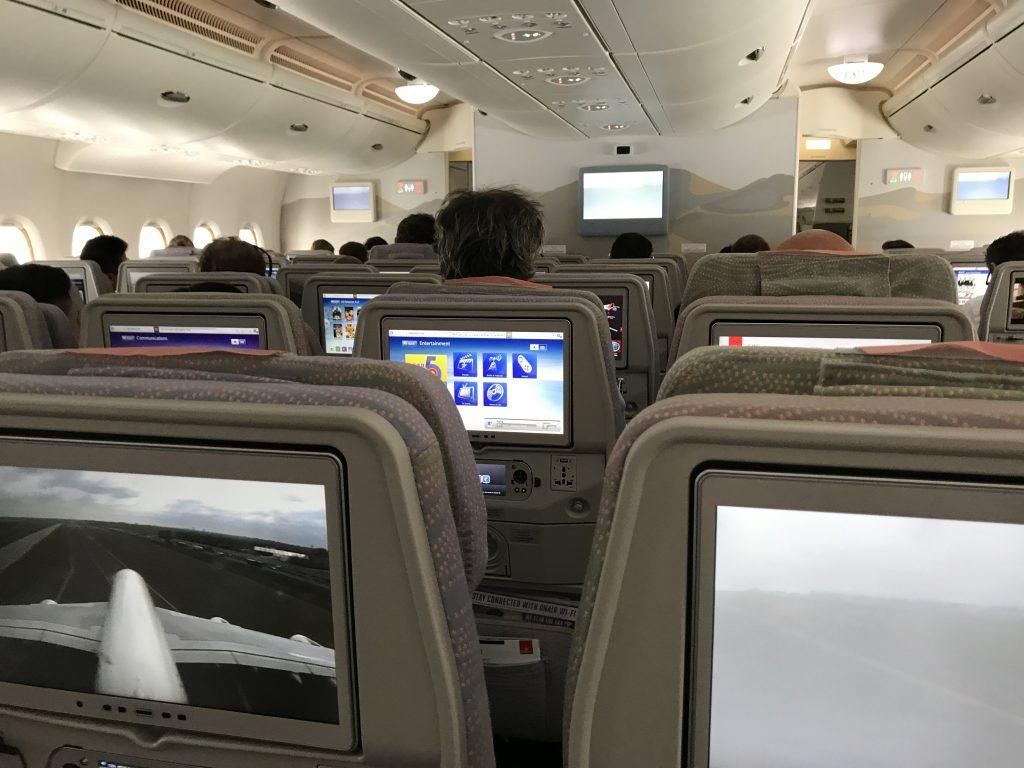 Beste plaatsen in een Airbus A380