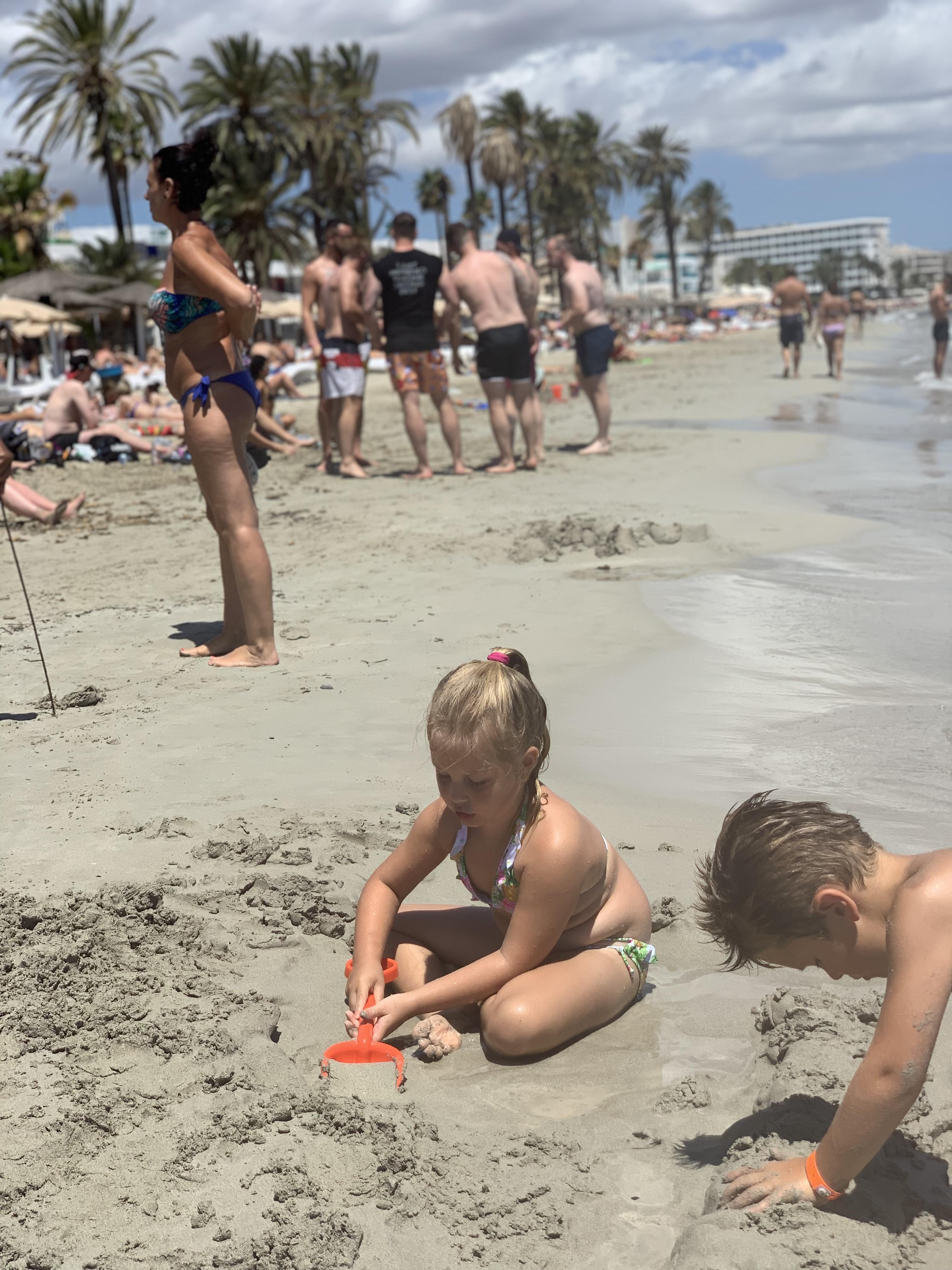 Bora Bora Ibiza with kids